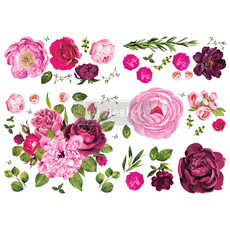 Redesign with Prima Redesign - Decor Transfer - Lush Floral I