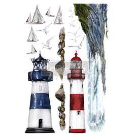 Redesign with Prima Redesign - Decor Transfer - Lighthouse