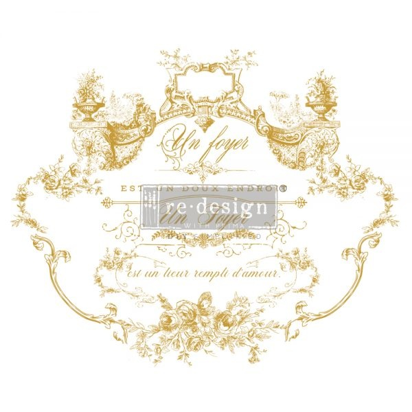 Redesign with Prima Redesign - Decor Transfer - Lovely Script