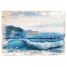Redesign with Prima Redesign - Decor Transfer - Blue Wave