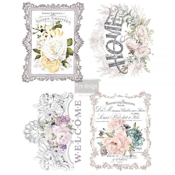Redesign with Prima Redesign - Decor Transfer - Floral Home