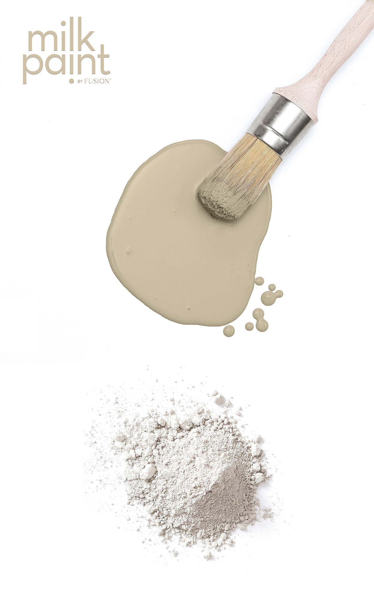 Fusion Mineral Paint Fusion - Milk Paint - Silver Screen - 50gr