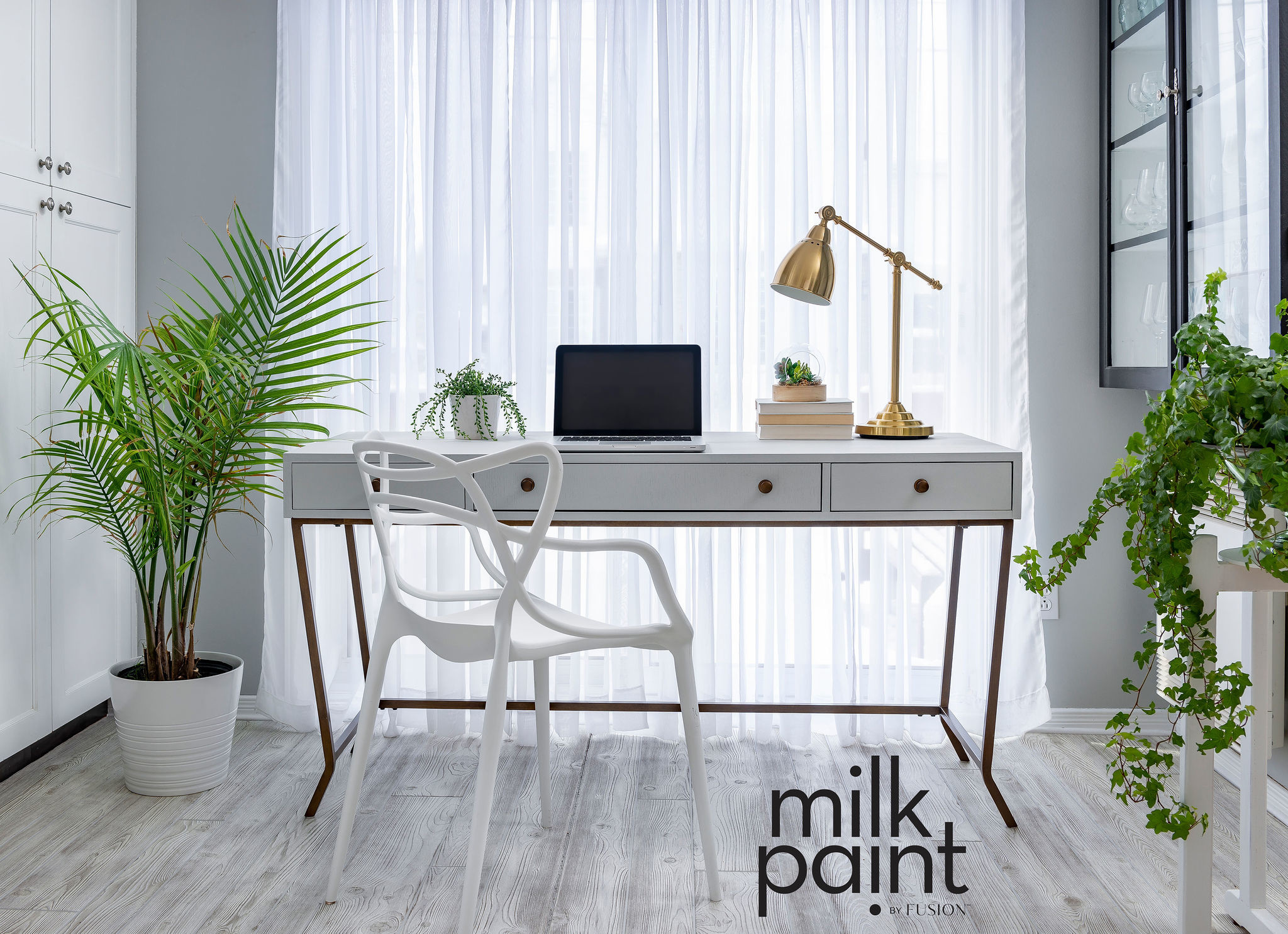Fusion Mineral Paint Fusion - Milk Paint - Silver Screen - 330gr