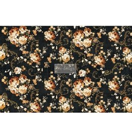 Redesign with Prima Redesign - Decoupage Tissue Paper - Dark Floral