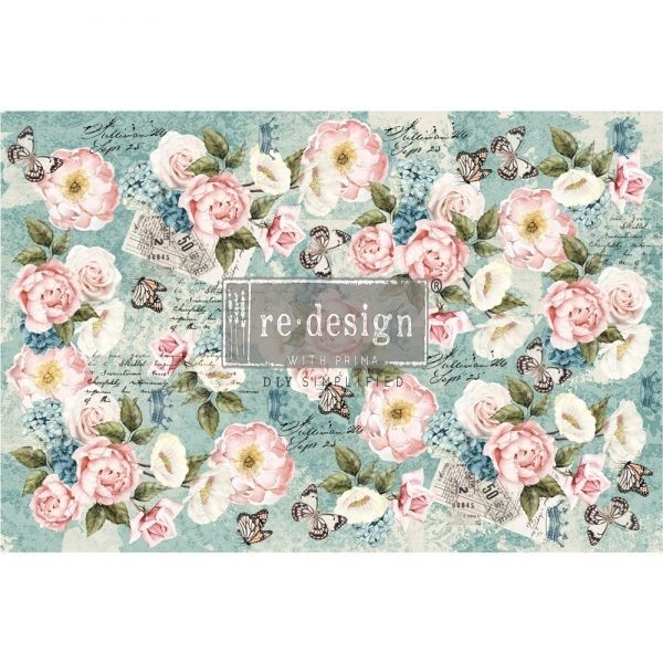 Redesign with Prima Redesign - Decoupage Tissue Paper - Zola