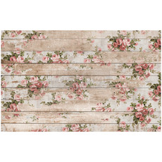 Redesign with Prima Redesign - Decoupage Tissue Paper - Shabby Floral