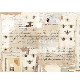 Redesign with Prima Redesign - Decoupage Rice Paper - Mysterious Notes