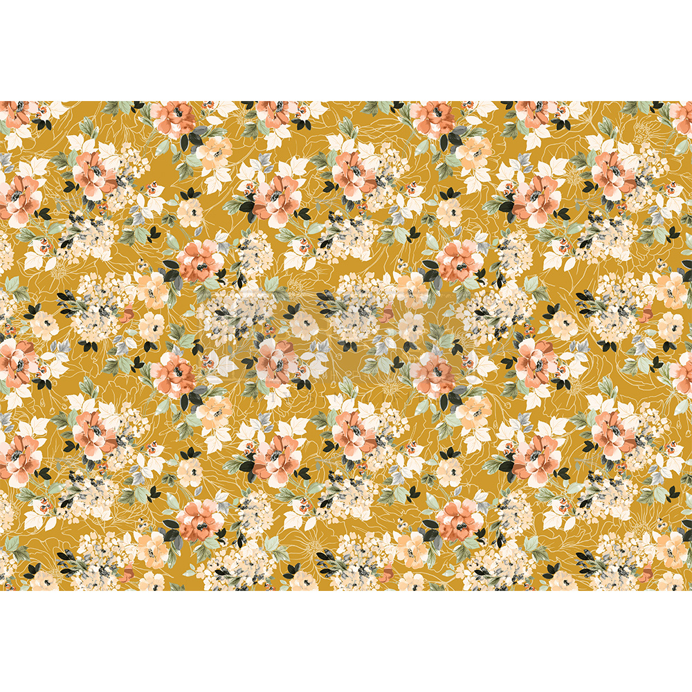 Redesign with Prima Redesign - Decoupage Rice Paper - Fleurette Dress