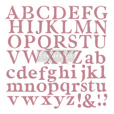 Redesign with Prima Redesign - Clear-Cling Stamps - Alpha