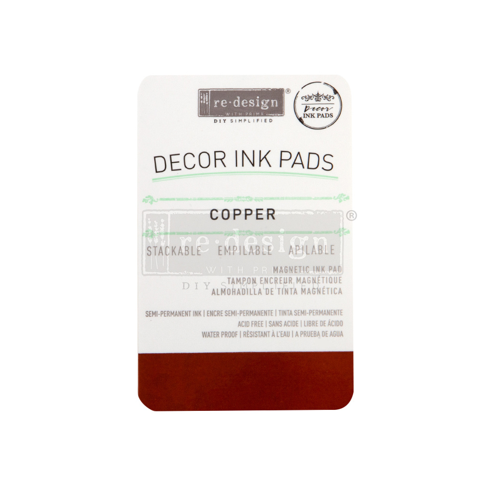 Redesign with Prima Redesign - Décor Ink Pad - Copper