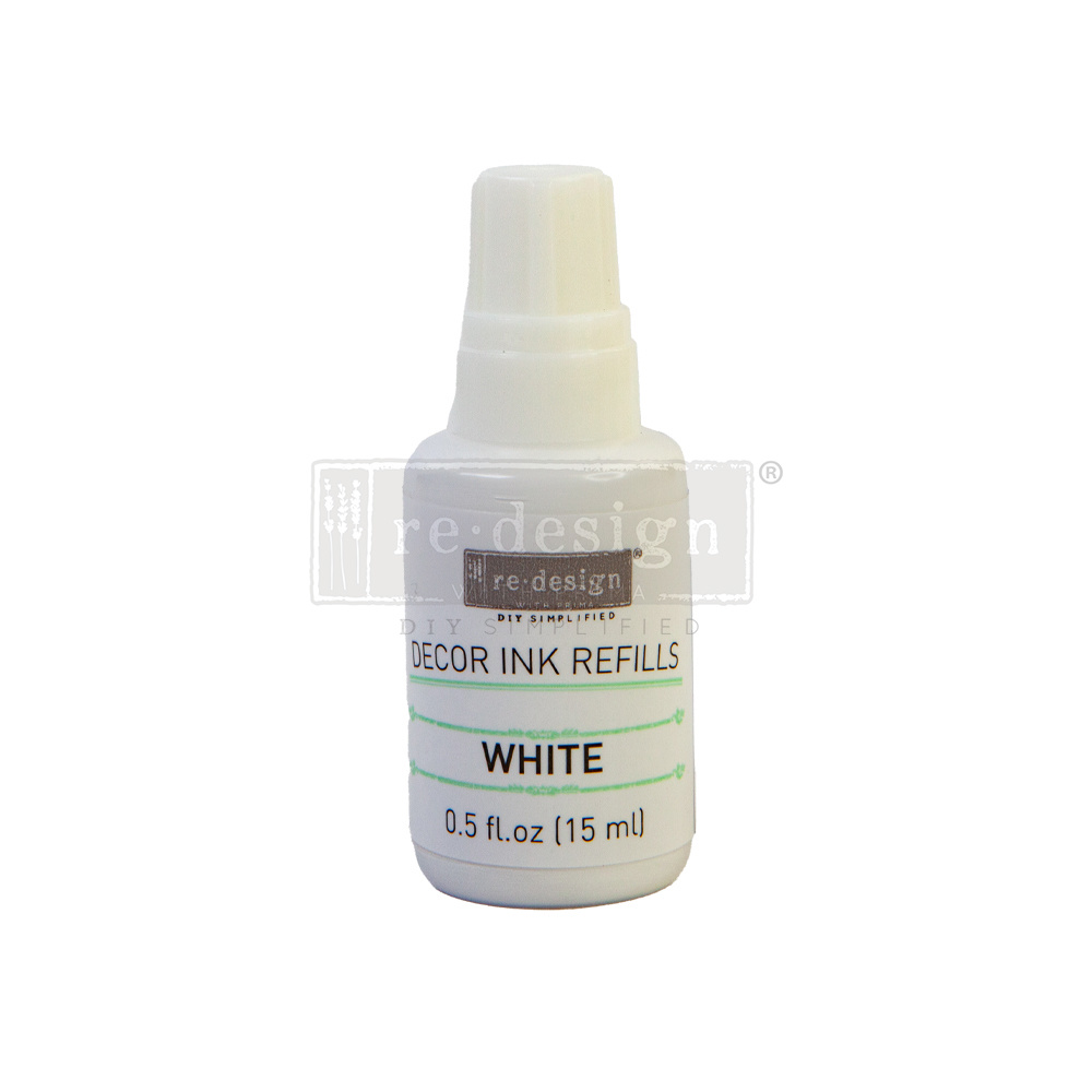 Redesign with Prima Redesign - Décor Ink Refill - White