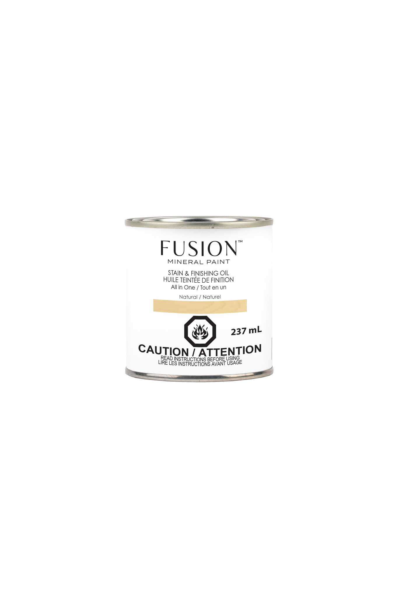 Fusion Mineral Paint Fusion - Stain and Finishing Oil - Natural - 237ml
