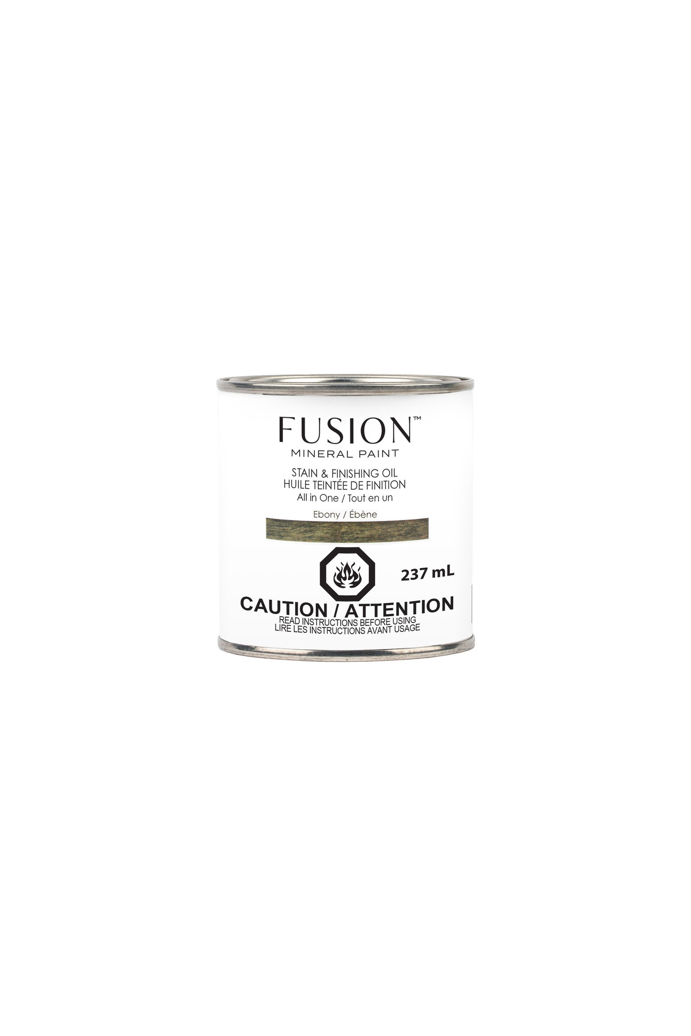 Fusion Mineral Paint Fusion - Stain and Finishing Oil - Ebony - 237ml
