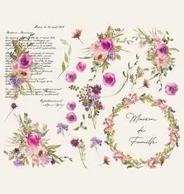 Amatxi Amatxi - Transfer - Watercolor Flowers