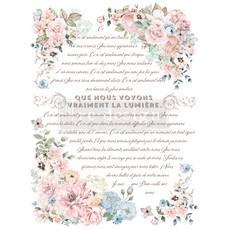 Redesign with Prima Redesign - Decor Transfer - Pure Light Floral