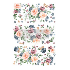 Redesign with Prima Redesign - Decor Transfer - Watercolor Bloom