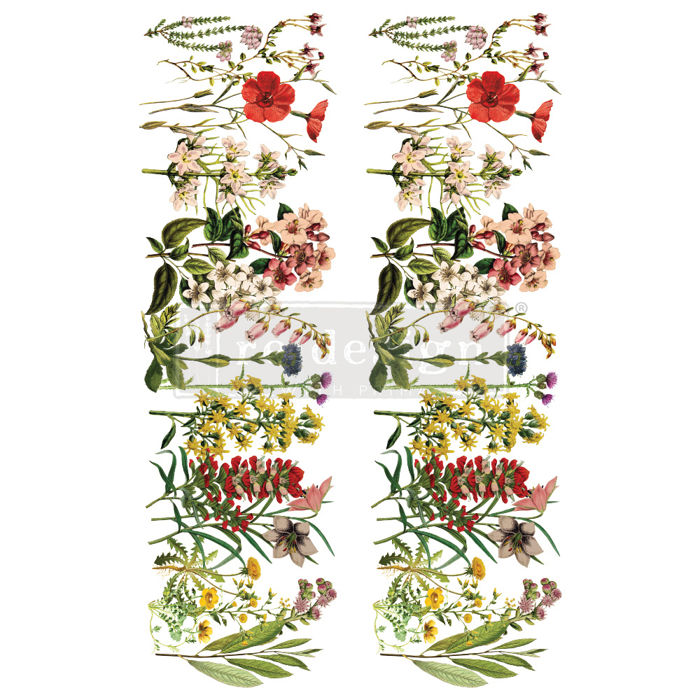 Redesign with Prima Redesign - Decor Transfer - The Flower Fields
