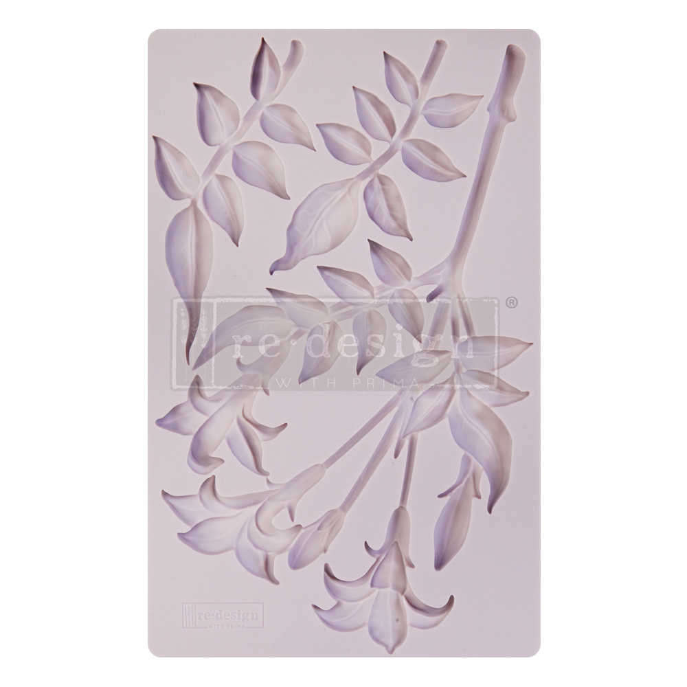 Redesign with Prima Redesign - Mould - Lily Flowers
