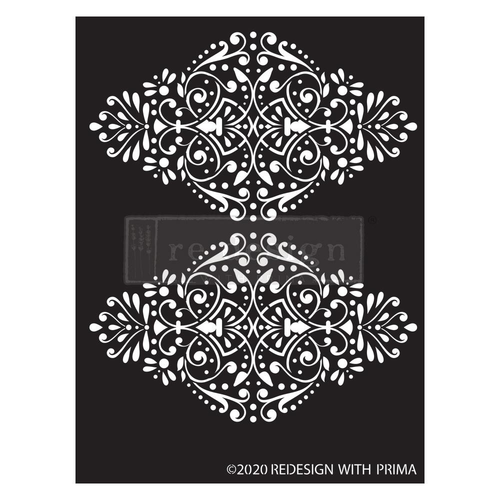 Redesign with Prima Redesign - Stencil - Dotted Flourish