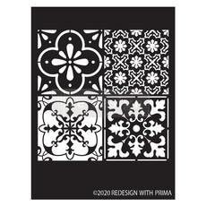 Redesign with Prima Redesign - Stencil - Coastal Tile