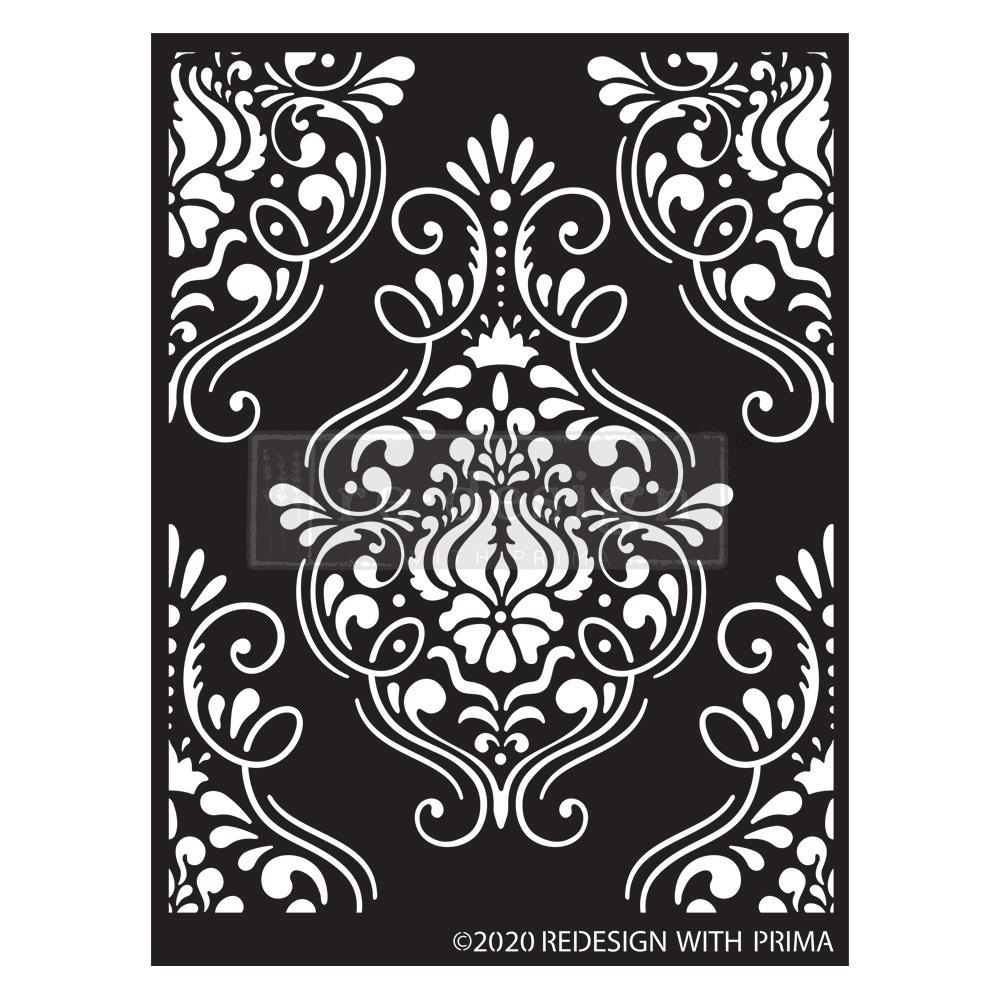 Redesign with Prima Redesign - Stencil - Flourish Emblem