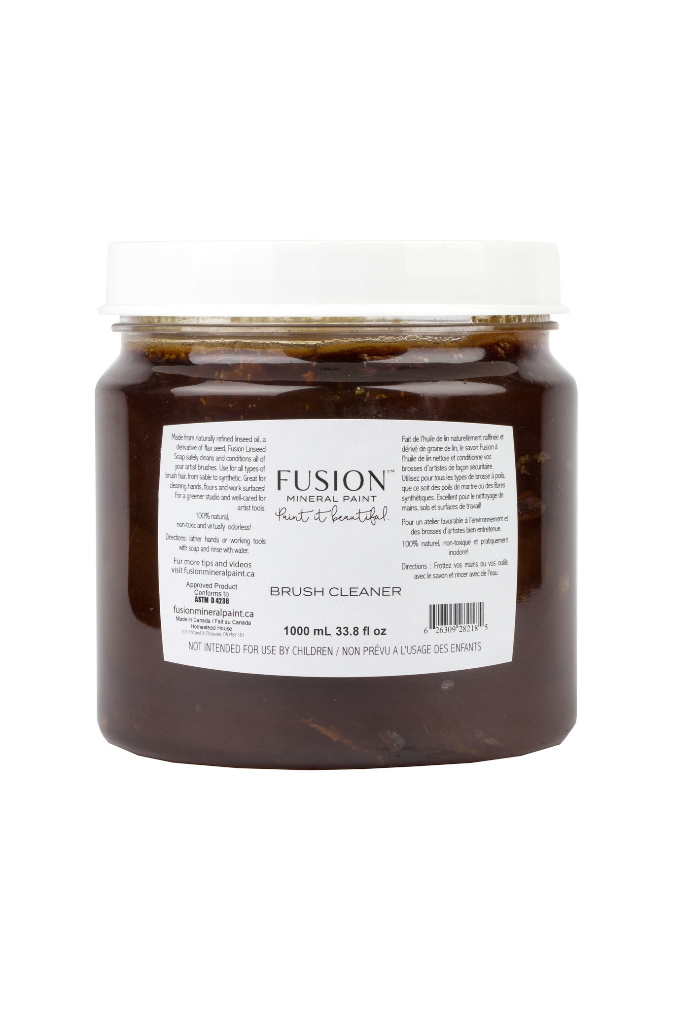 Fusion Mineral Paint Fusion - Brush Soap - 1000ml
