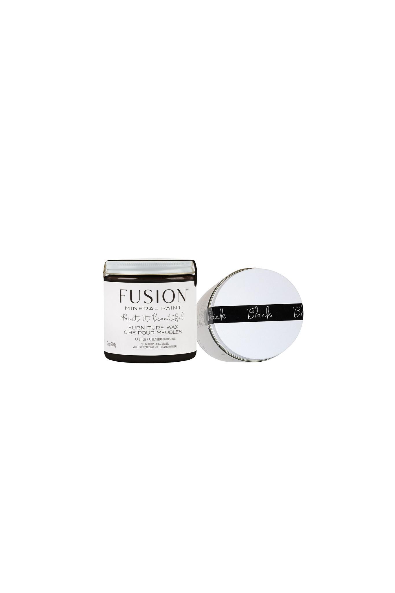 Fusion Mineral Paint Fusion - Black Wax - 200gr