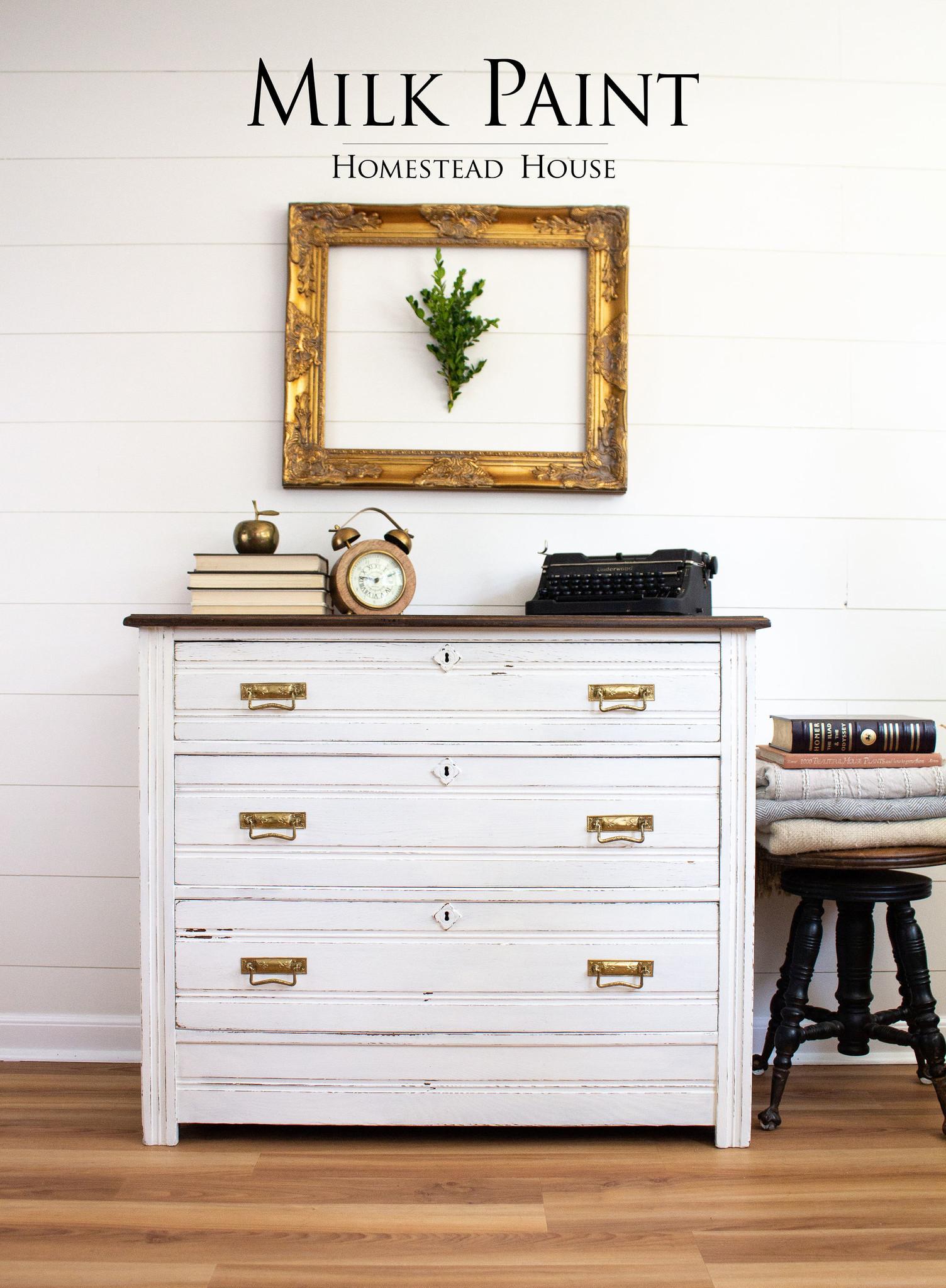 Homestead House HH - Milk Paint - Sturbridge White - 230gr