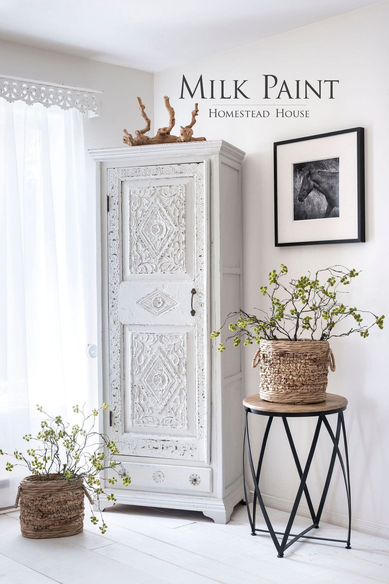 Homestead House HH - Milk Paint - Raw Silk - 230gr