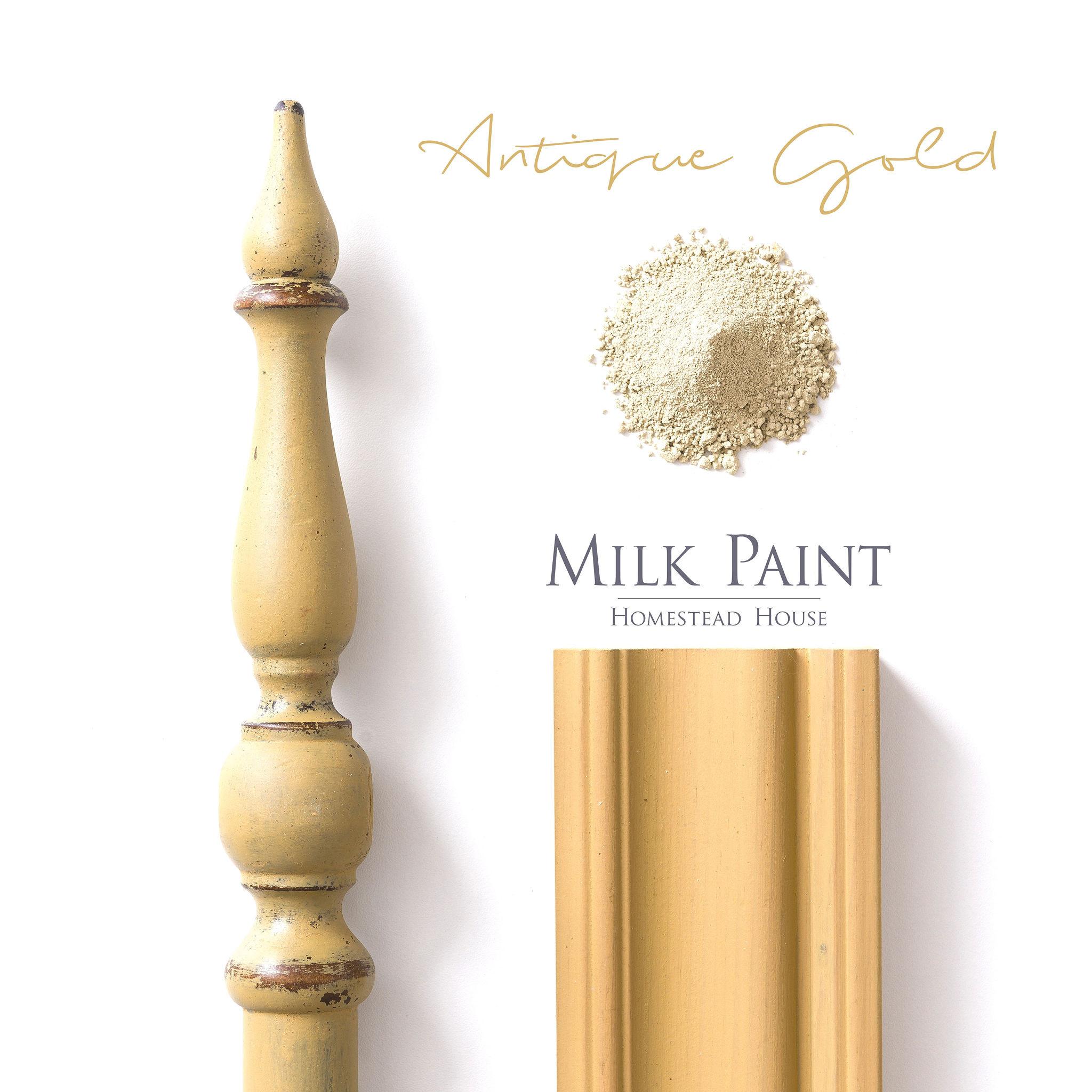 Homestead House HH - Milk Paint - Antique Gold - 230gr