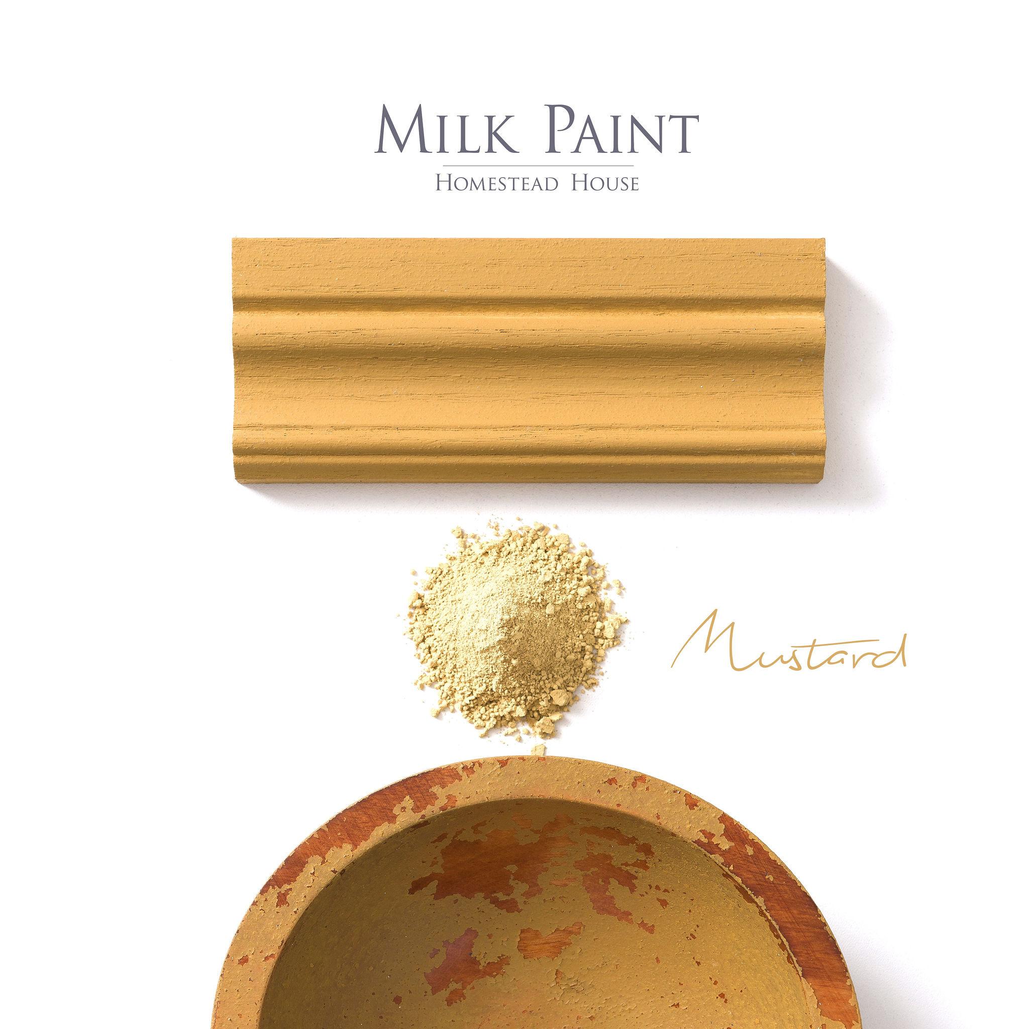 Homestead House HH - Milk Paint - Mustard - 230gr