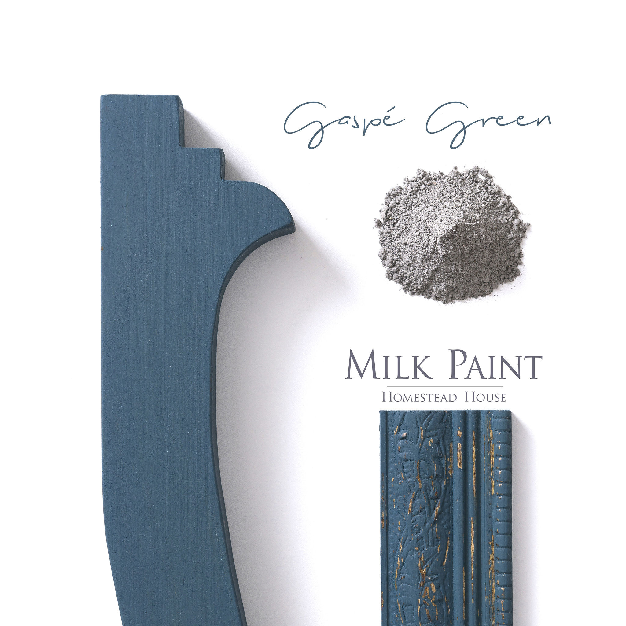 Homestead House HH - Milk Paint - Gaspé Green - 230gr