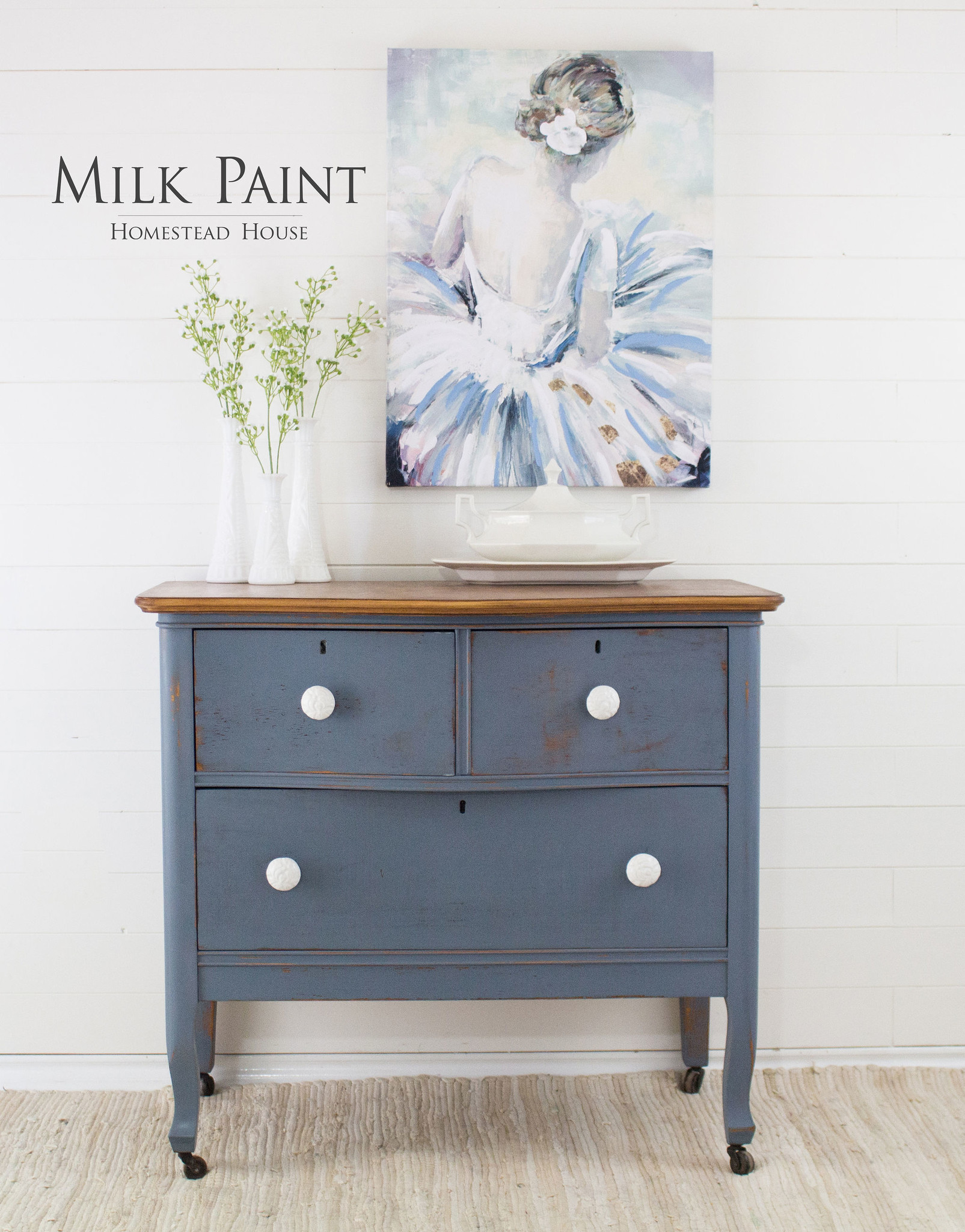 Homestead House HH - Milk Paint - Rideau Blue - 230gr