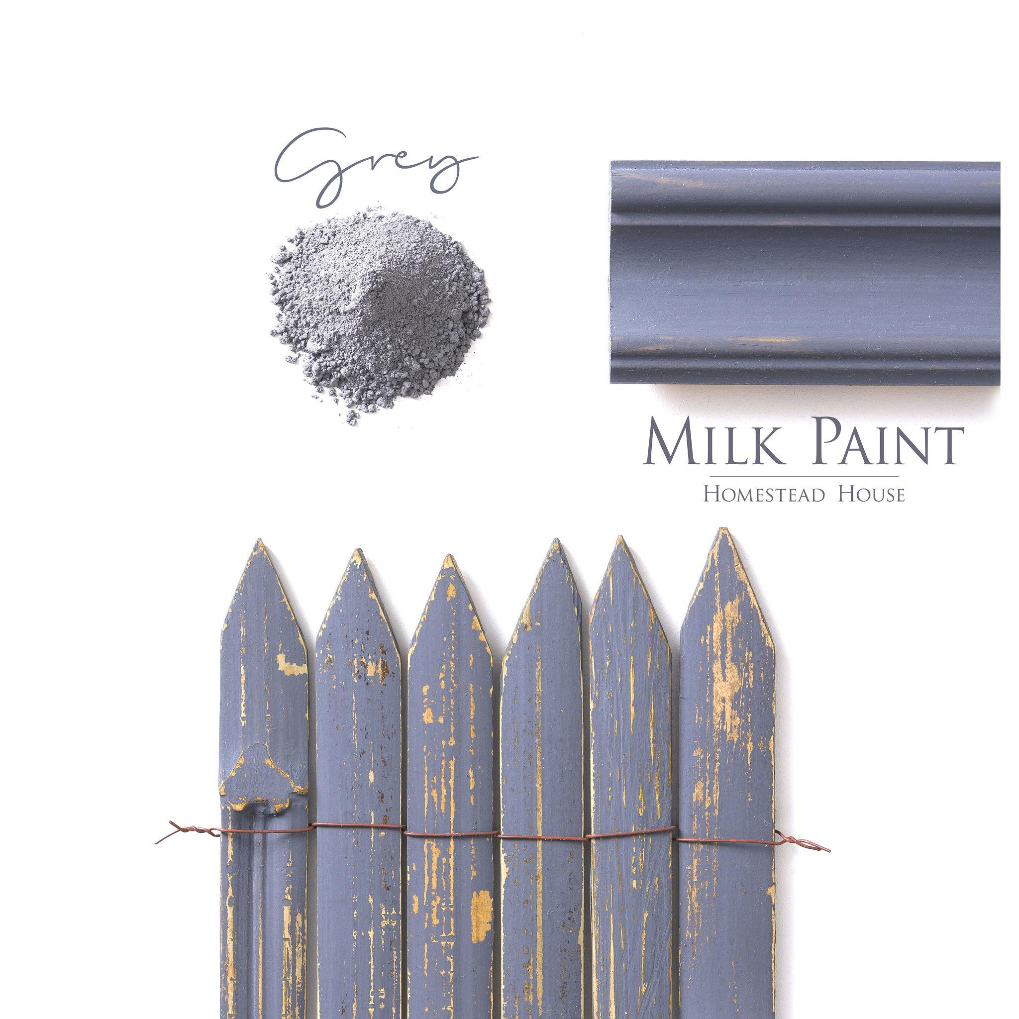 Homestead House HH - Milk Paint - Homestead Grey - 230gr