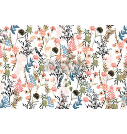 Redesign with Prima Redesign - Decoupage Tissue Paper - Pretty Meadows