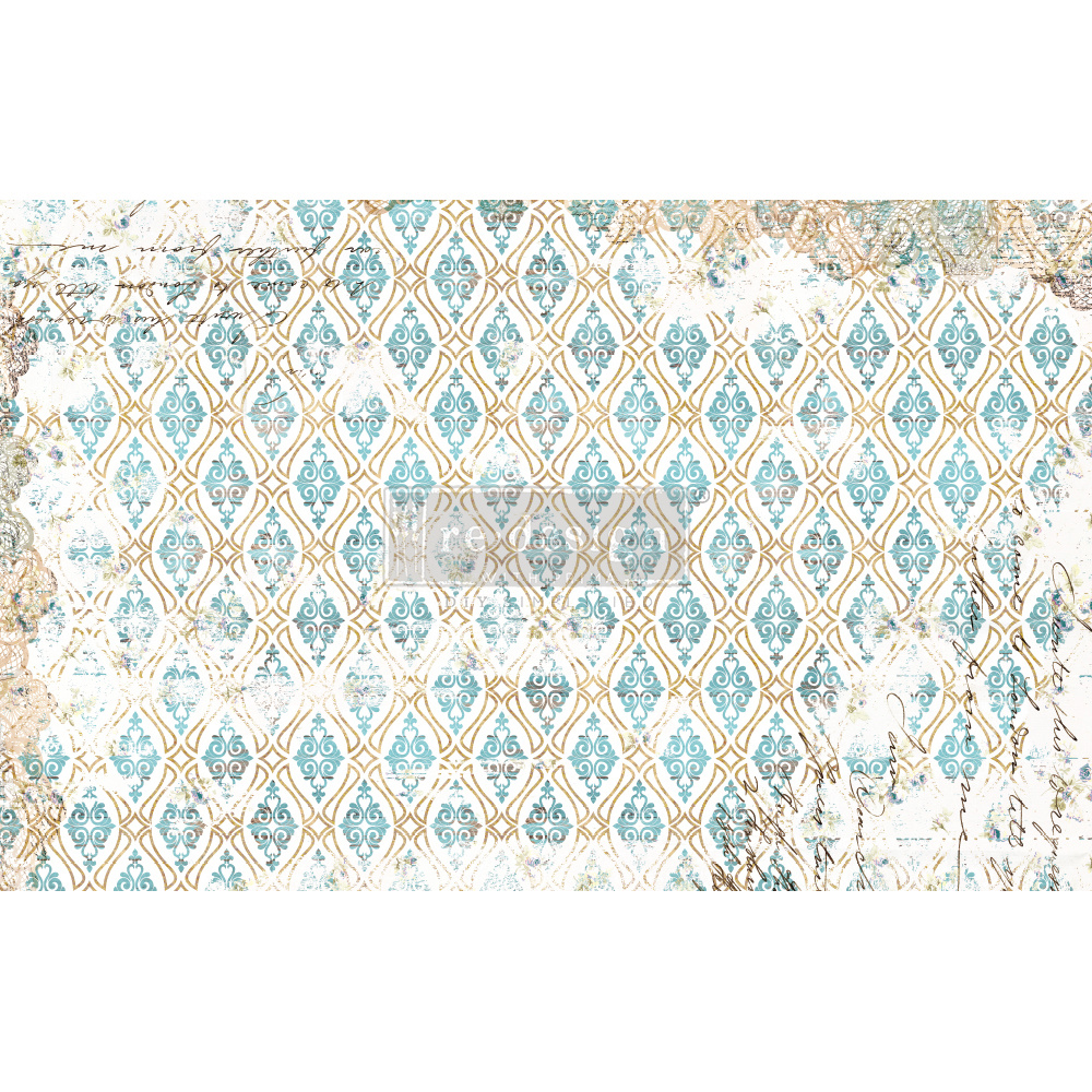 Redesign with Prima Redesign - Decoupage Tissue Paper - Distressed Deco