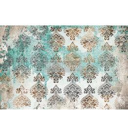 Redesign with Prima Redesign - Decoupage Tissue Paper - Patina Flourish