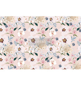 Redesign with Prima Redesign - Decoupage Tissue Paper - Blush Floral
