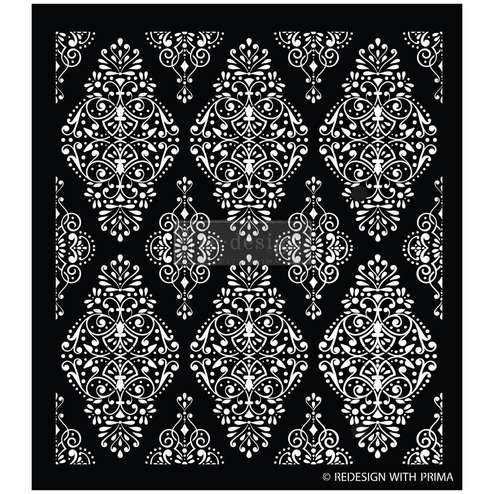 Redesign with Prima Redesign - Stencil - Diamond Flourish