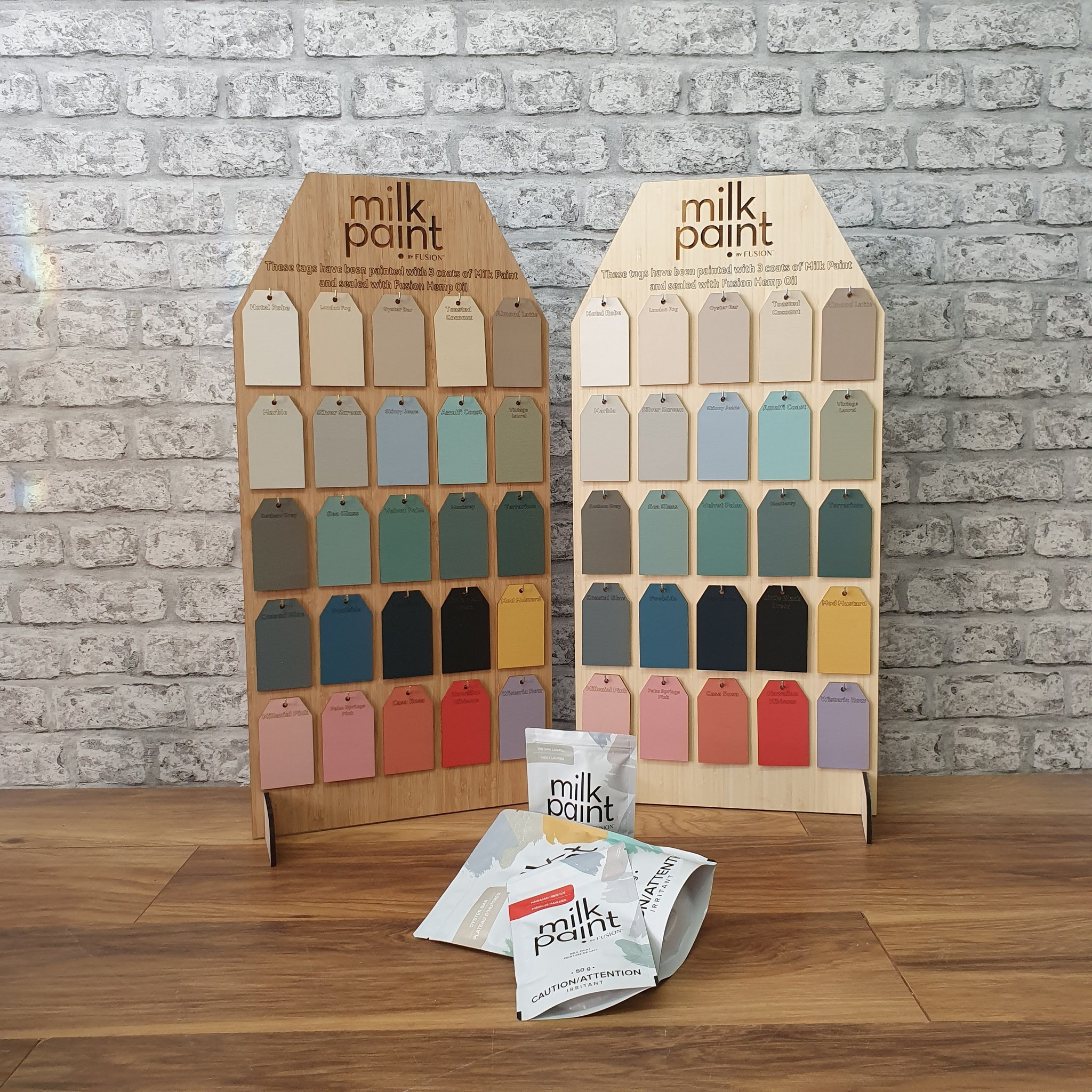 Fusion Mineral Paint Fusion - Milk Paint - Colour Tag Display Stand