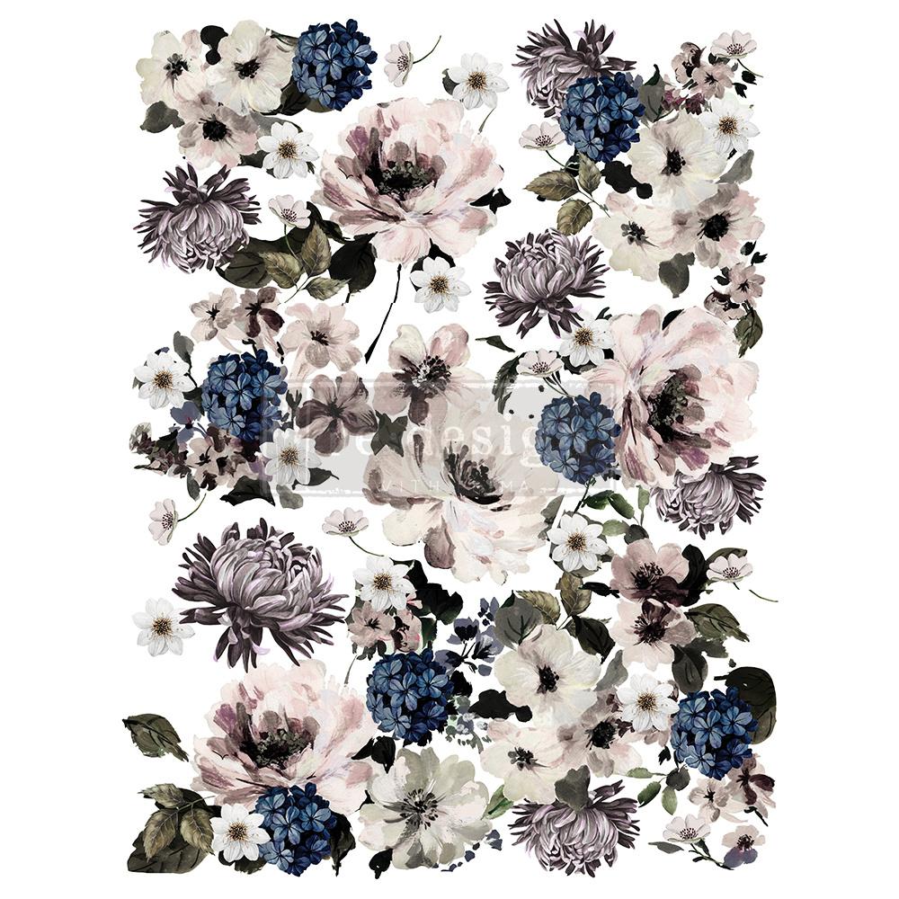 Redesign with Prima Redesign - Decor Transfer - Dark Floral