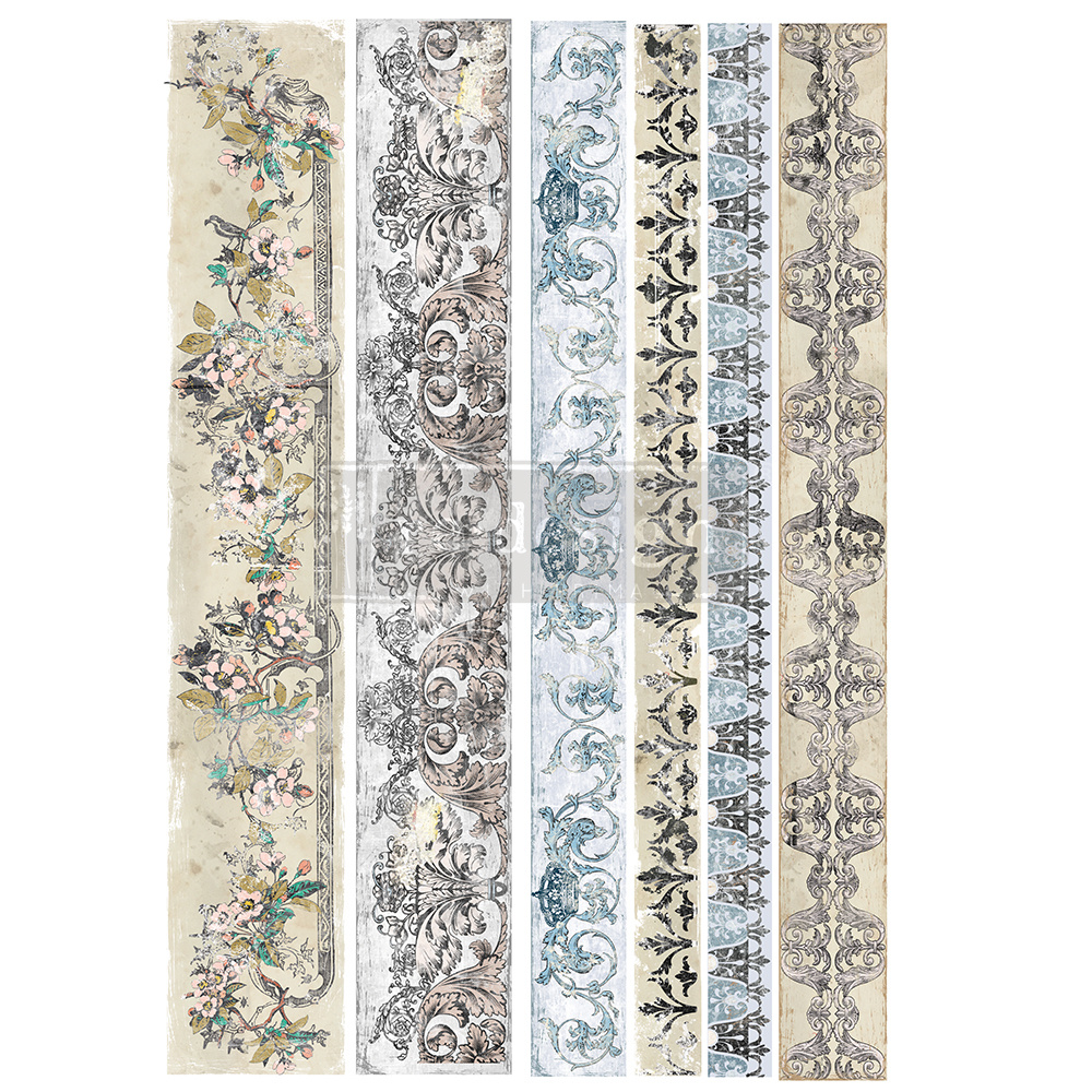 Redesign with Prima Redesign - Decor Transfer - Distressed Borders