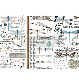 Redesign with Prima Redesign - Decor Transfer - Spring Dragonfly