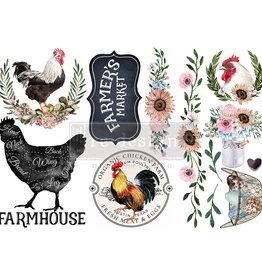 Redesign with Prima Redesign - Decor Transfer - Morning Farmhouse