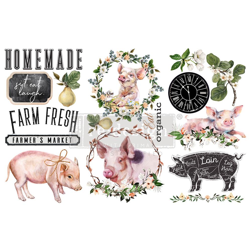 Redesign with Prima Redesign - Decor Transfer - Farm Fresh