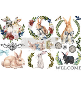 Redesign with Prima Redesign - Decor Transfer - Cottontail