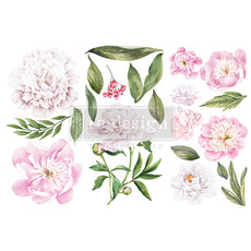 Redesign with Prima Redesign - Decor Transfer - Morning Peonies