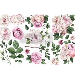 Redesign with Prima Redesign - Decor Transfer - Delicate Roses