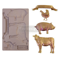 Redesign with Prima Redesign - Mould - Farm Animals