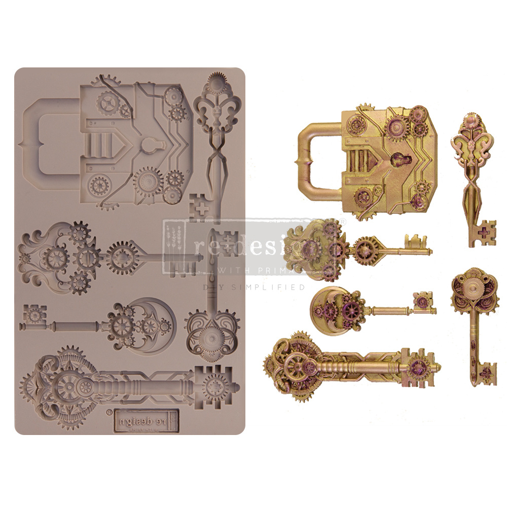 Redesign with Prima Redesign - Mould - Mechanical Lock & Keys